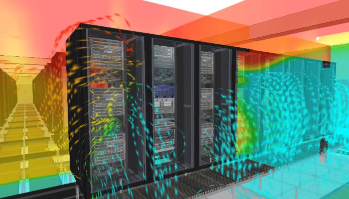 Server Rack Air Flow Management