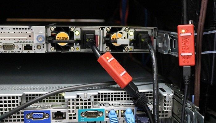 Server Rack Temperature Monitoring Sensors