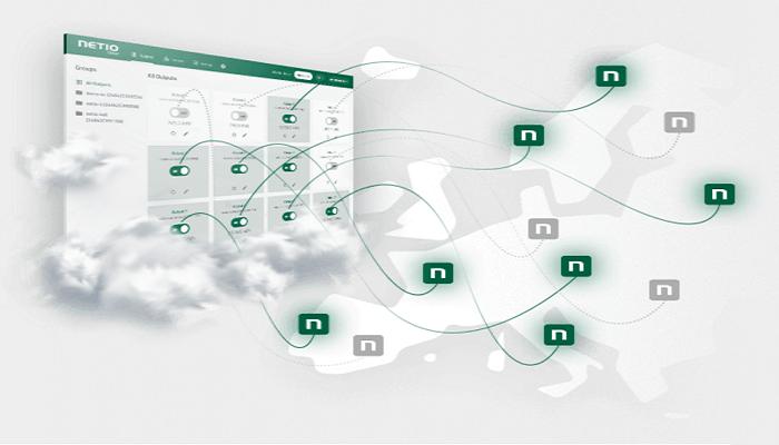 NETIO Cloud Smart Power Monitoring Portal