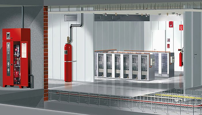 Fire Protected Server Rooms