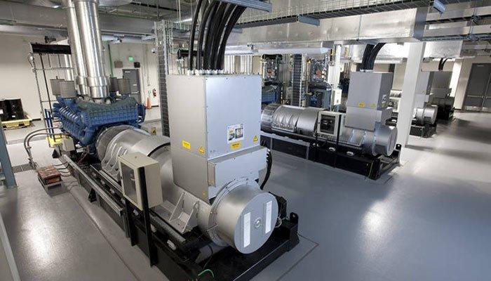 Datacentre Standby Power Generators