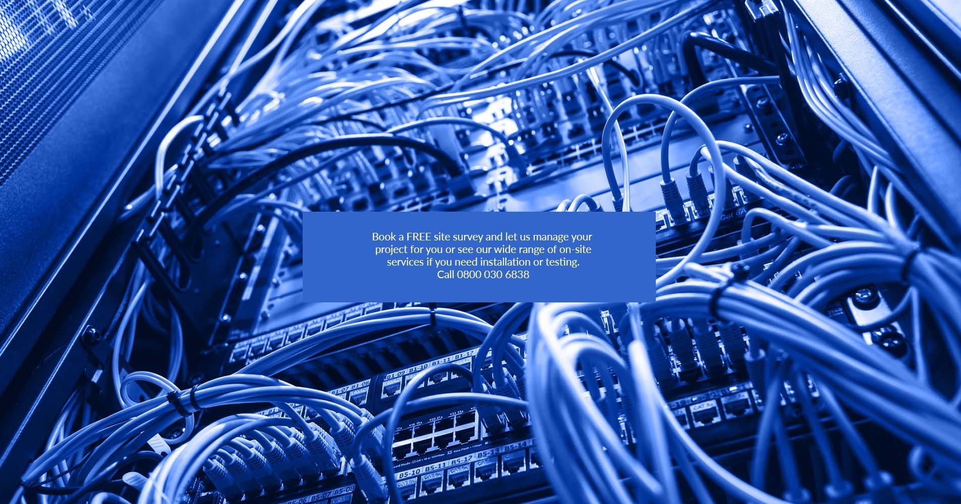 Server Room Structured Cabling   Data Cabling Installations on