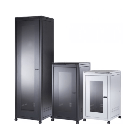 18U Free Standing Data Cabinets 800 Wide 800 Deep