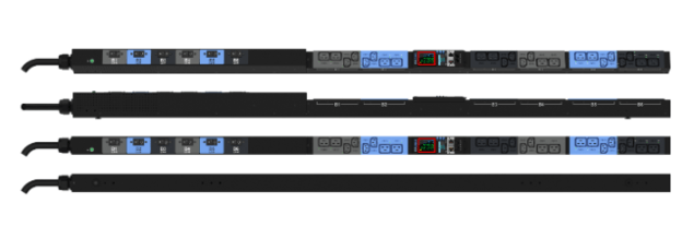 Enlogic EN2.0 Input Metered, Outlet Switched PDU 32A 3ph 400V 24 C13 12 C19 Outlets