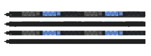 Enlogic Basic EN2.0 PDU 16A 3ph 400V 36 C13 6 C19 Outlets