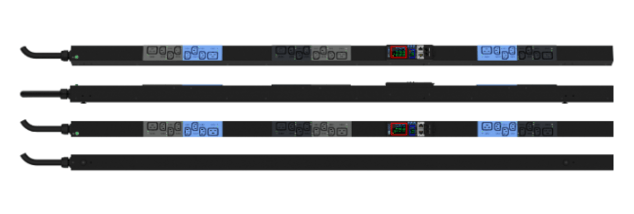 Enlogic EN2.0 Outlet Metered, Outlet Switched PDU 16A 3ph 400V 18 C13 6 C19 Outlets