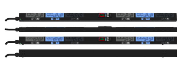 Enlogic EN2.0 Outlet Metered PDU 32A 3ph 400V 24 C13 12 C19 Outlets